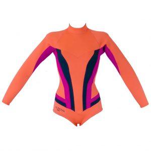 alooppa orange cassandra wetsuit