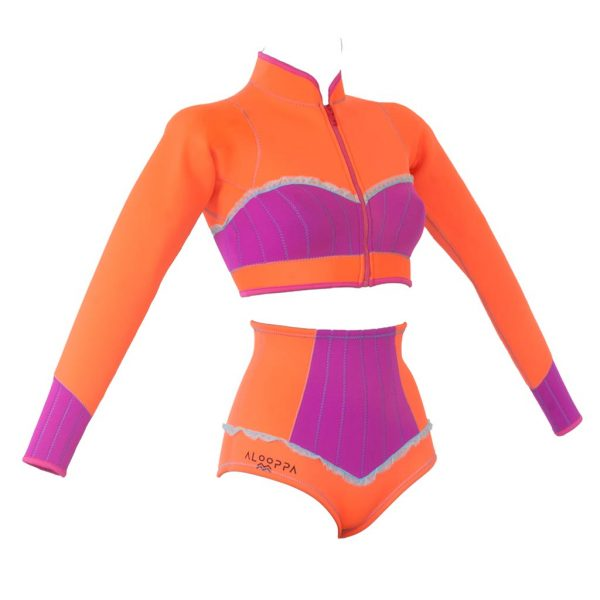 alooppa wetsuit surfsuit product photo