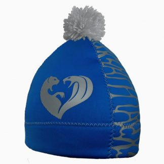 alooppa duality hat blue color silver details