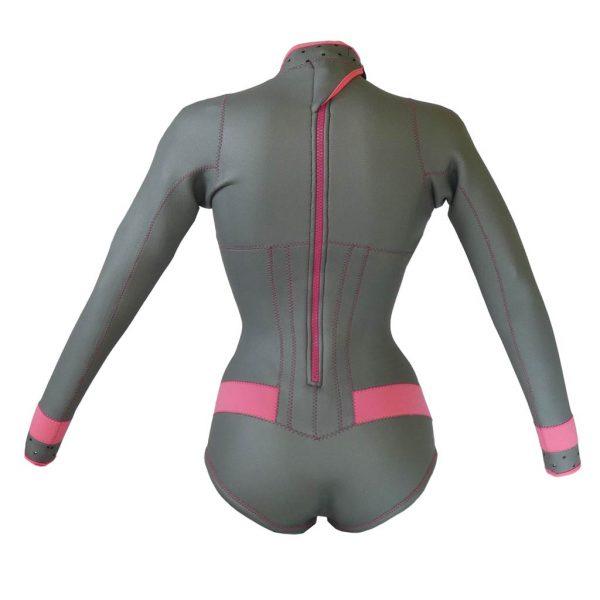 Alooppa Silver wetsuit - back image