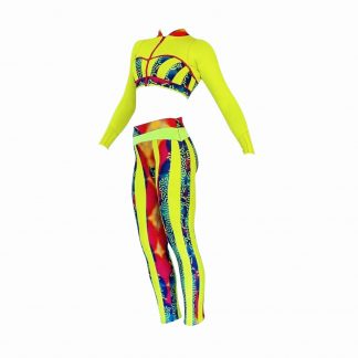 colorful alooppa wetsuit