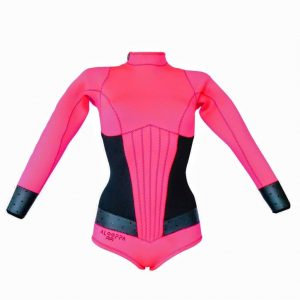Amore pink wetsuit