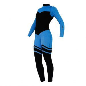 Alooppa beautiful full size 2 mm wetsuit blue colour