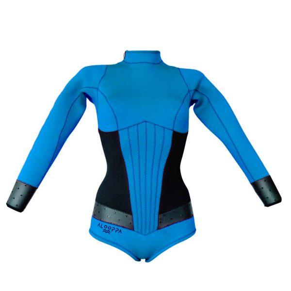 Alooppa Blue Springsuit Wetsuit