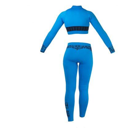 Alooppa Jacket and Leggings - Blue